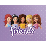 Конструктор Lele Friends (подружки) аналог LEGO Friends