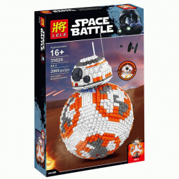 Конструктор LELE Star Wars Дроид BB-8