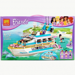 Конструктор LELE Friends Круизный лайнер