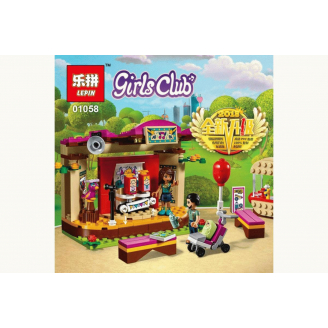 Конструктор LEPIN Friends Сцена Андреа в парке
