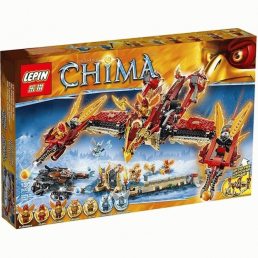 Конструктор LEPIN Legends of Chima Огненный летающий Храм Фениксов