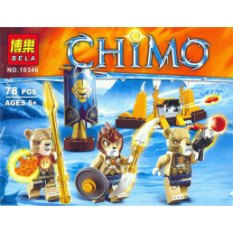 Конструктор LEPIN Legends of Chima Лагерь клана Львов