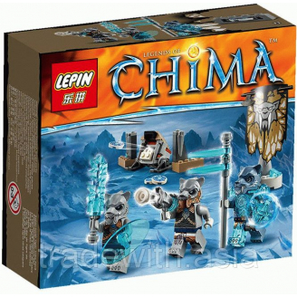 Конструктор LEPIN Legends of Chima Лагерь клана Саблезубых Тигров