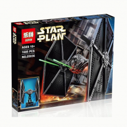 Конструктор LEPIN Star Wars Истребитель TIE Fighter