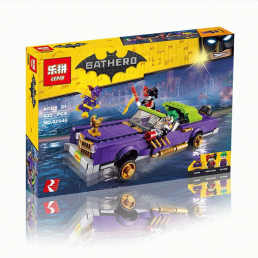 Конструктор LEPIN Batman Лоурайдер Джокера